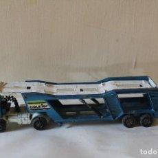 Slot Cars: CAMIÓN PORTA COCHES MATCHBOX SUPER KINGS LESNEY K -10 1980. Lote 84463548