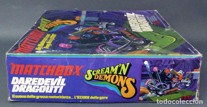 Slot Cars: Scream Demons Matchbox Lesney Daredevil Dragout Made in England años 70 juego pista - Foto 3 - 96235903