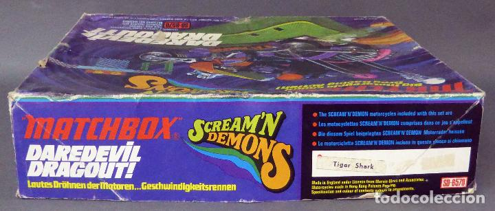 Slot Cars: Scream Demons Matchbox Lesney Daredevil Dragout Made in England años 70 juego pista - Foto 4 - 96235903