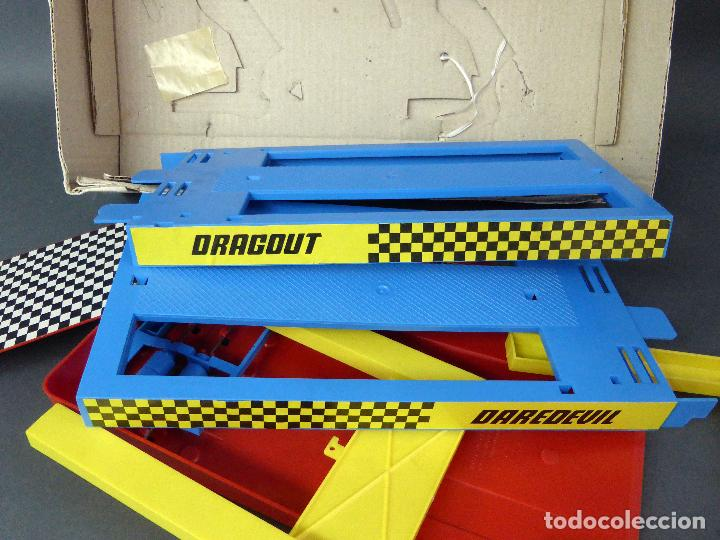 Slot Cars: Scream Demons Matchbox Lesney Daredevil Dragout Made in England años 70 juego pista - Foto 7 - 96235903