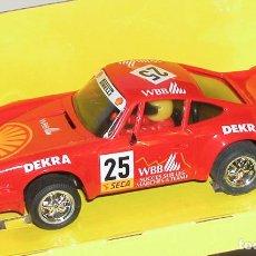 Slot Cars: PORSCHE 911 SHELL SCALEXTRIC (NUEVO Y EN SU CAJA). Lote 99445067
