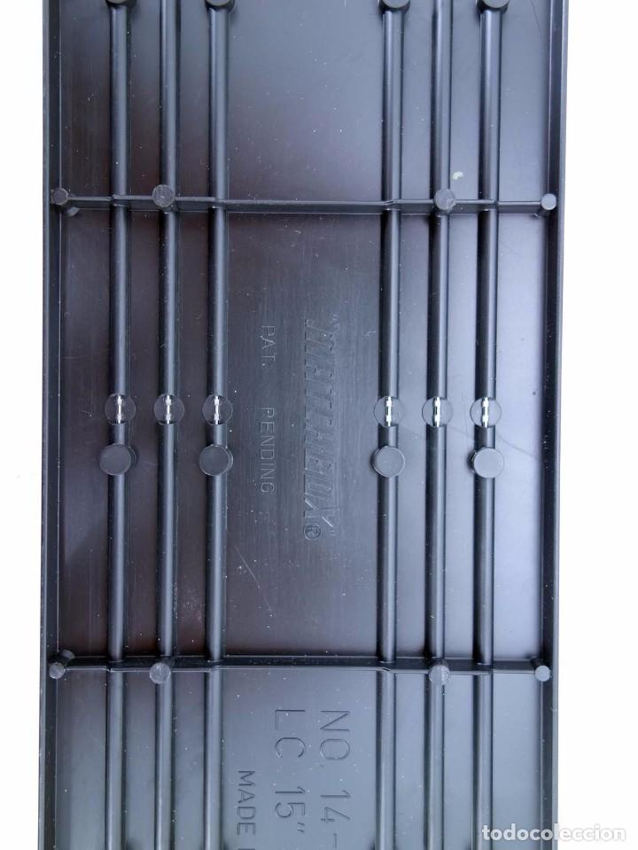 "Slot Cars: MATCHBOX LANE CHANGER TURBO SR SLOTLESS 10 TRAMOS RECTOS 14-5301 15"" STR TRACK. LC-206. RARO. TCR - Foto 5 - 105838039"
