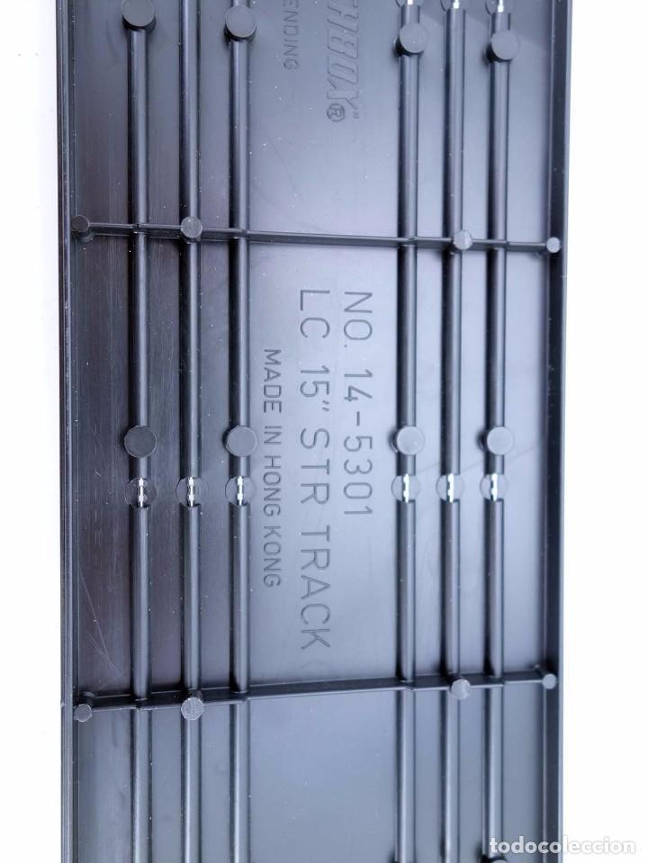 "Slot Cars: MATCHBOX LANE CHANGER TURBO SR SLOTLESS 10 TRAMOS RECTOS 14-5301 15"" STR TRACK. LC-206. RARO. TCR - Foto 6 - 105838039"
