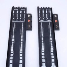 Slot Cars: MATCHBOX LANE CHANGER TURBO SR SLOTLESS 2 TRAMOS RECTOS 14-5302 LC TERMINAL TRACK. LC-203. RARO. TCR. Lote 105838251