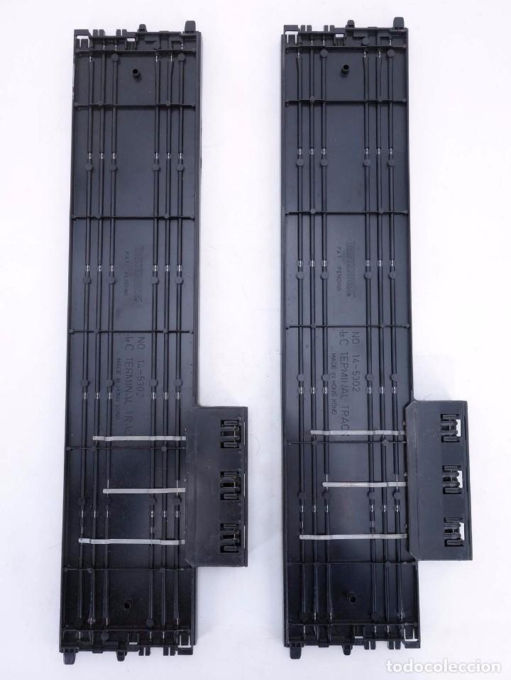Slot Cars: MATCHBOX LANE CHANGER TURBO SR SLOTLESS 2 TRAMOS RECTOS 14-5302 LC TERMINAL TRACK. LC-203. RARO. TCR - Foto 4 - 105838251