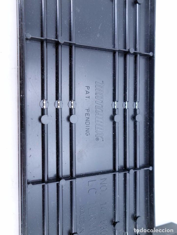 Slot Cars: MATCHBOX LANE CHANGER TURBO SR SLOTLESS 2 TRAMOS RECTOS 14-5302 LC TERMINAL TRACK. LC-203. RARO. TCR - Foto 5 - 105838251