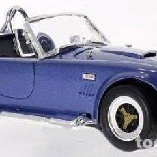 Slot Cars: SHELBY COBRA 427 S/C 1964 ESCALA 1/18 DE LUCKY DIE CAST. Lote 117221027