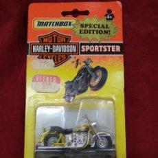 Slot Cars: MATCHBOX ~ HARLEY DAVIDSON , SPORTSTER ~ SPECIAL EDITION , BLISTER SIN ABRIR ( AÑO 1992 ) ORIGINAL. Lote 138111889