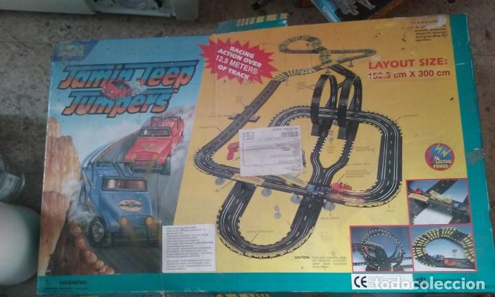 JUEGO COMPLETO 12,5 M JAMIN JEEP JUMPERS (Juguetes - Slot Cars - Matchbox)