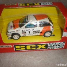 Slot Cars: SEAT IBIZA SCALEXTRIC,EN CAJA Y CON MANUAL DE ENTRETENIMIENTO. Lote 149961182