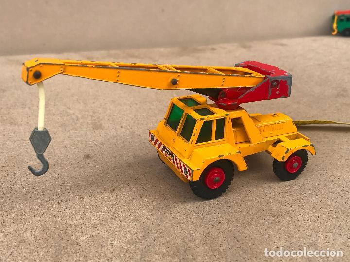 Slot Cars: GRUA DE MATCHBOX SERIES TAYLOR JUMBO CRANE LESNEY Nº 11 - Foto 4 - 151486998