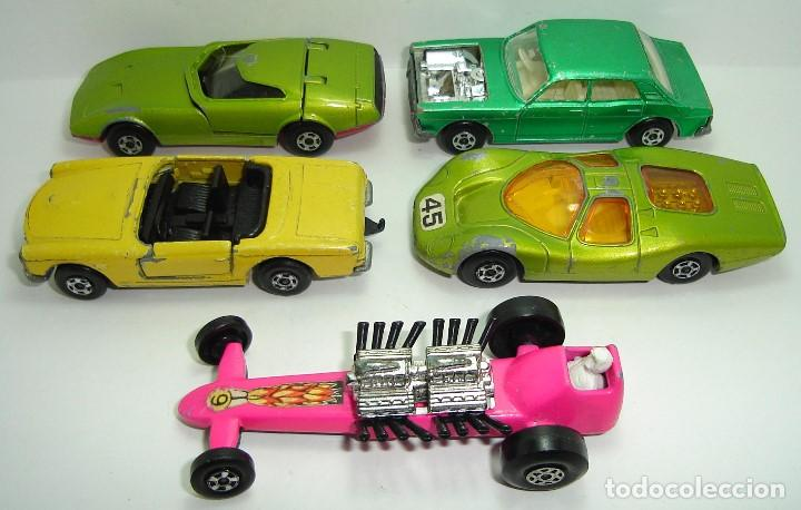 ANTIGUO LOTE DESGUACE DE COCHES MATCHBOX LESNEY SUPERFAST (Juguetes - Slot Cars - Matchbox)