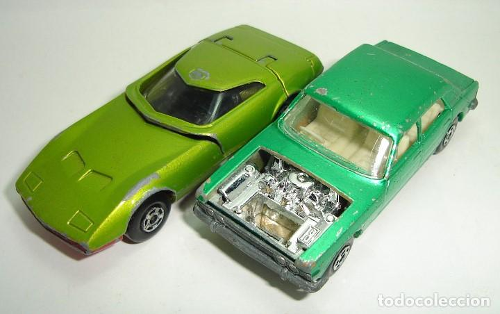 Slot Cars: ANTIGUO LOTE DESGUACE DE COCHES MATCHBOX LESNEY SUPERFAST - Foto 2 - 155109906