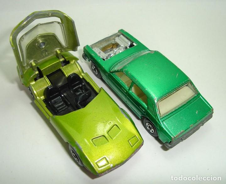 Slot Cars: ANTIGUO LOTE DESGUACE DE COCHES MATCHBOX LESNEY SUPERFAST - Foto 4 - 155109906