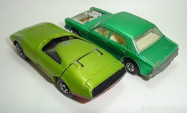Slot Cars: ANTIGUO LOTE DESGUACE DE COCHES MATCHBOX LESNEY SUPERFAST - Foto 5 - 155109906