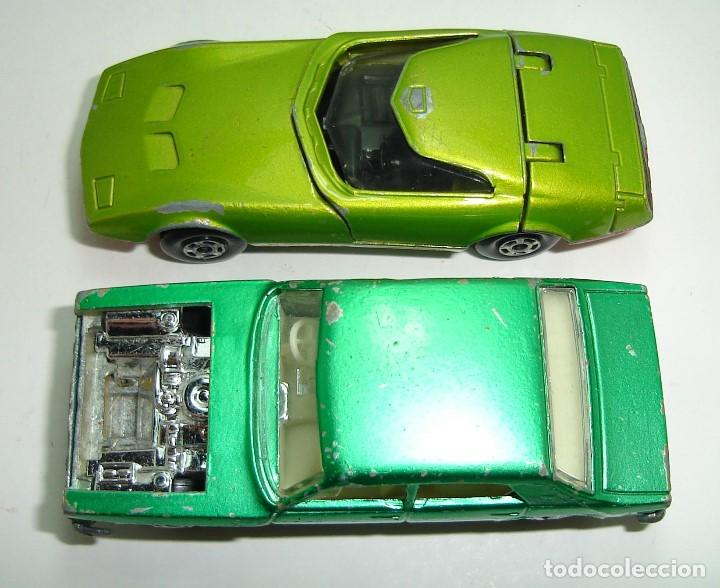 Slot Cars: ANTIGUO LOTE DESGUACE DE COCHES MATCHBOX LESNEY SUPERFAST - Foto 6 - 155109906