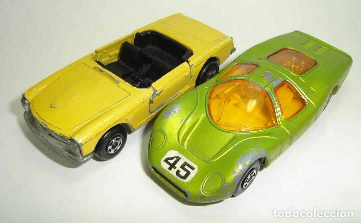Slot Cars: ANTIGUO LOTE DESGUACE DE COCHES MATCHBOX LESNEY SUPERFAST - Foto 8 - 155109906