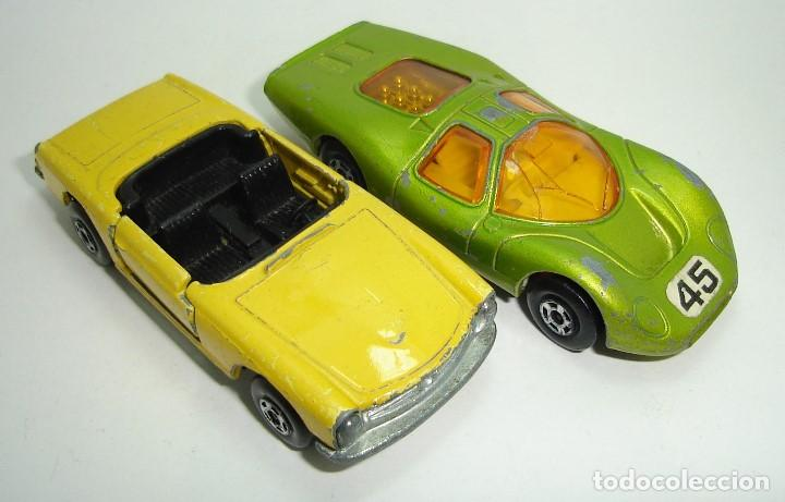 Slot Cars: ANTIGUO LOTE DESGUACE DE COCHES MATCHBOX LESNEY SUPERFAST - Foto 9 - 155109906