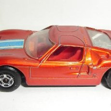 Slot Cars: ANTIGUO FORD GT MATCHBOX LESNEY SUPERFAST NUMERO 41. Lote 155214518