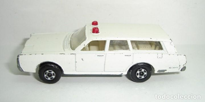 ANTIGUO MERCURY POLICE CAR MATCHBOX LESNEY SUPERFAST NUMERO 55 (Juguetes - Slot Cars - Matchbox)