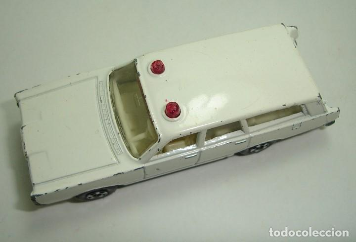 Slot Cars: ANTIGUO MERCURY POLICE CAR MATCHBOX LESNEY SUPERFAST NUMERO 55 - Foto 4 - 155215714