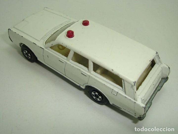 Slot Cars: ANTIGUO MERCURY POLICE CAR MATCHBOX LESNEY SUPERFAST NUMERO 55 - Foto 5 - 155215714