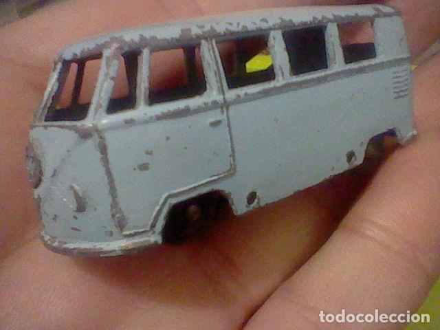 Slot Cars: VOLKSWAGEN MATCHBOX MICRO BUS Nº 12 JUGADO LEER - Foto 2 - 161126978