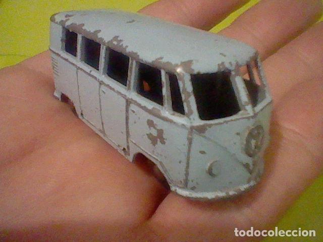 Slot Cars: VOLKSWAGEN MATCHBOX MICRO BUS Nº 12 JUGADO LEER - Foto 5 - 161126978
