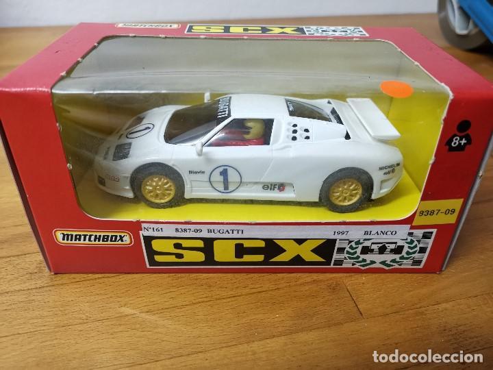 COCHE SCALEXTRIC SCX MATCHBOX BUGATTI REF.83870.20 (Juguetes - Slot Cars - Matchbox)