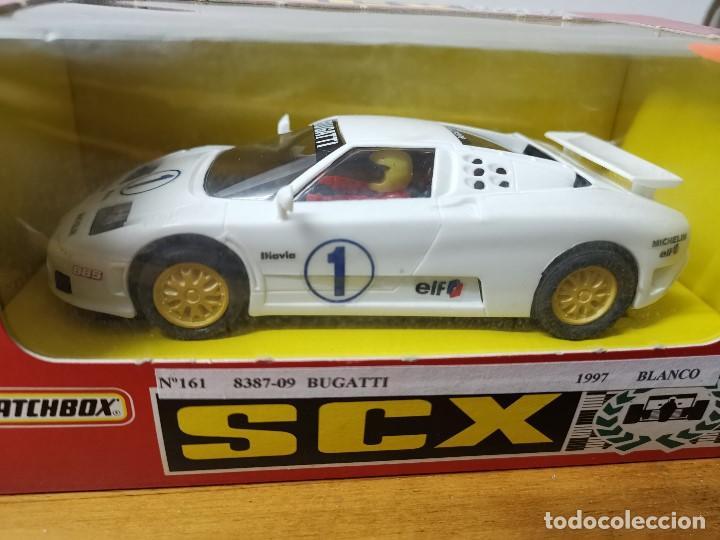 Slot Cars: Coche scalextric SCX matchbox Bugatti ref.83870.20 - Foto 3 - 166212954