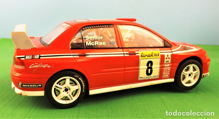 Slot Cars: Hornby Slot Mitsubishi Lancer WRC Alister McRae - Foto 3 - 174148102