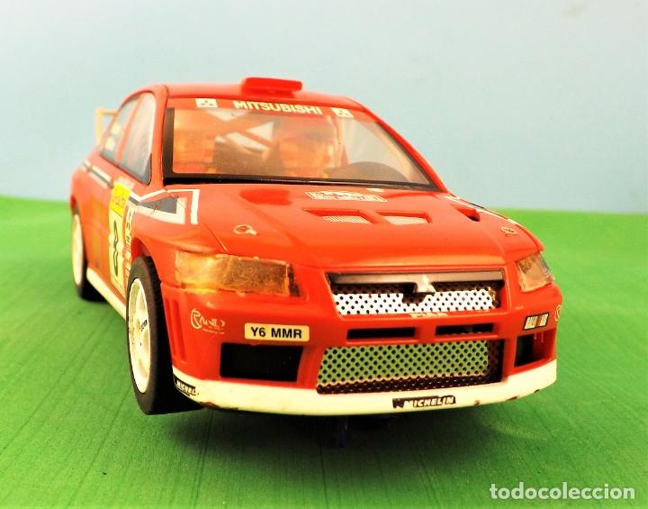 Slot Cars: Hornby Slot Mitsubishi Lancer WRC Alister McRae - Foto 4 - 174148102