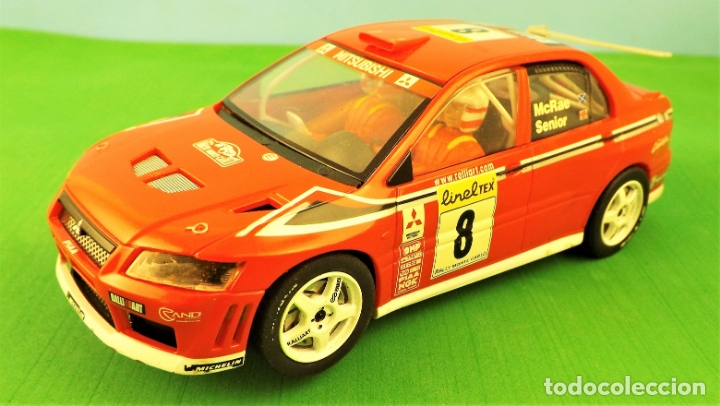 HORNBY SLOT MITSUBISHI LANCER WRC ALISTER MCRAE (Juguetes - Slot Cars - Matchbox)