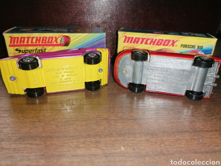 Slot Cars: LOTE 2 COCHES MATCHBOX - Foto 2 - 184801970