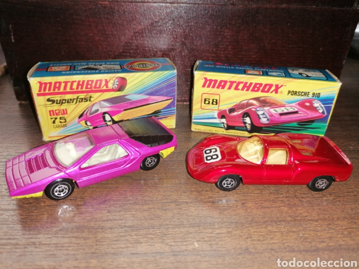 Slot Cars: LOTE 2 COCHES MATCHBOX - Foto 1 - 184801970