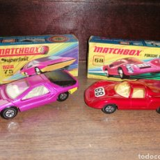 Slot Cars: LOTE 2 COCHES MATCHBOX. Lote 184801970
