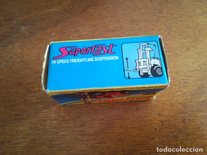Slot Cars: Matchbox superflast fork lift truck new15 1972 made in england - Foto 2 - 182347083