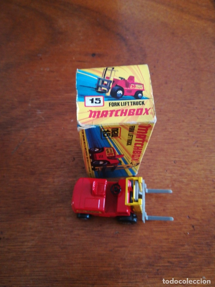 Slot Cars: Matchbox superflast fork lift truck new15 1972 made in england - Foto 3 - 182347083