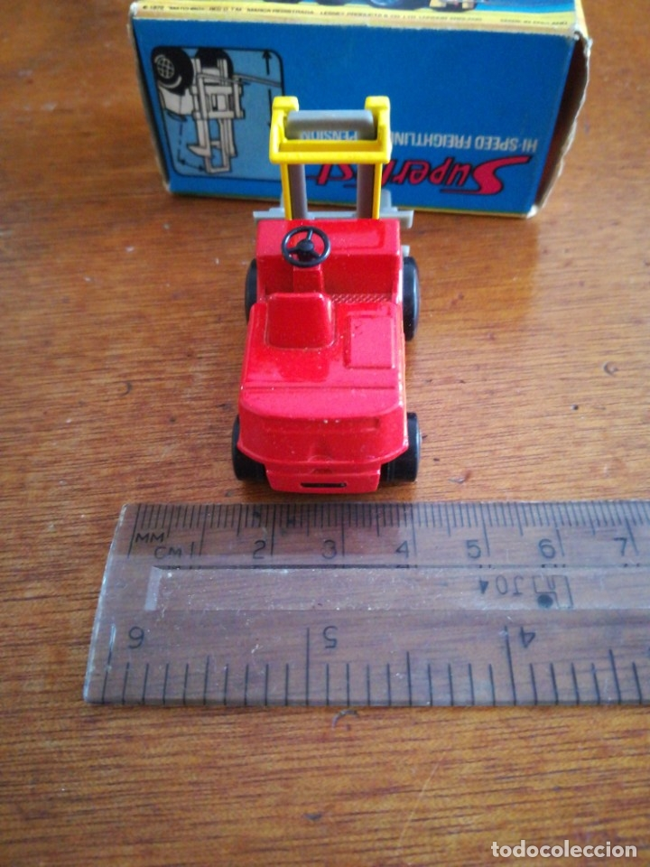 Slot Cars: Matchbox superflast fork lift truck new15 1972 made in england - Foto 5 - 182347083