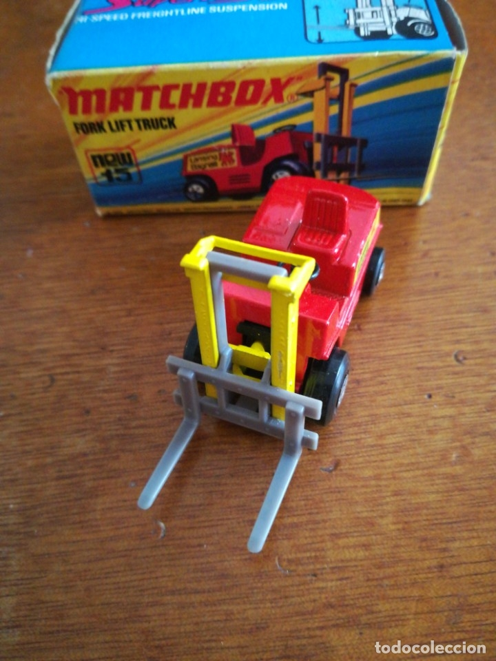 Slot Cars: Matchbox superflast fork lift truck new15 1972 made in england - Foto 7 - 182347083