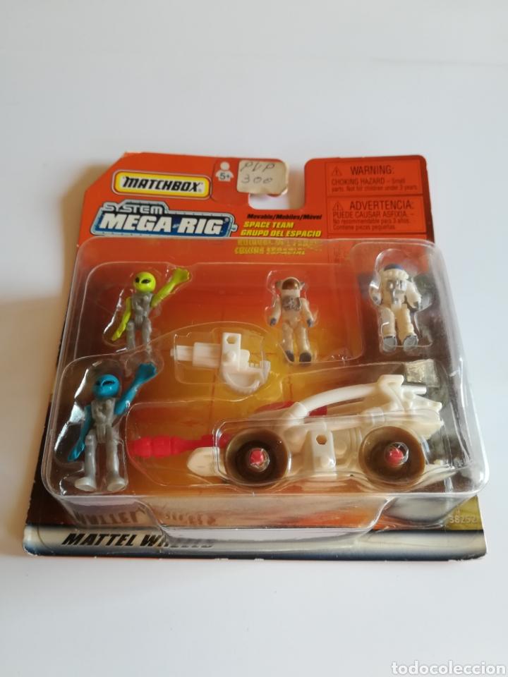 Slot Cars: Matchbox System Mega Rig Grupo del Espacio Space Team - Mattel Wheels - año 1999 - Aliens Universo - Foto 2 - 205681753
