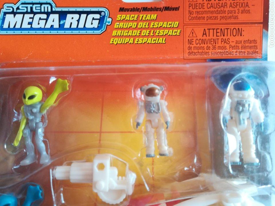 Slot Cars: Matchbox System Mega Rig Grupo del Espacio Space Team - Mattel Wheels - año 1999 - Aliens Universo - Foto 9 - 205681753