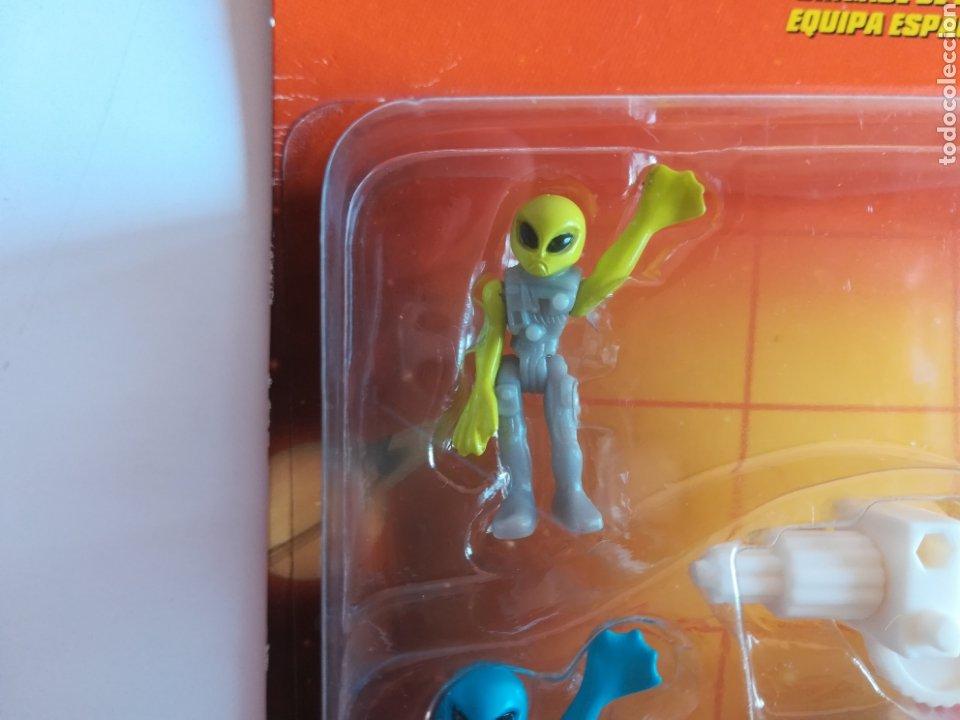Slot Cars: Matchbox System Mega Rig Grupo del Espacio Space Team - Mattel Wheels - año 1999 - Aliens Universo - Foto 10 - 205681753