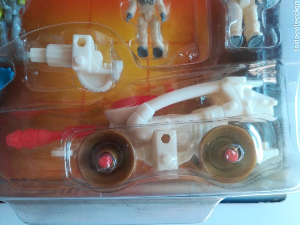 Slot Cars: Matchbox System Mega Rig Grupo del Espacio Space Team - Mattel Wheels - año 1999 - Aliens Universo - Foto 17 - 205681753