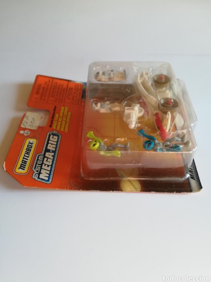Slot Cars: Matchbox System Mega Rig Grupo del Espacio Space Team - Mattel Wheels - año 1999 - Aliens Universo - Foto 3 - 205681753