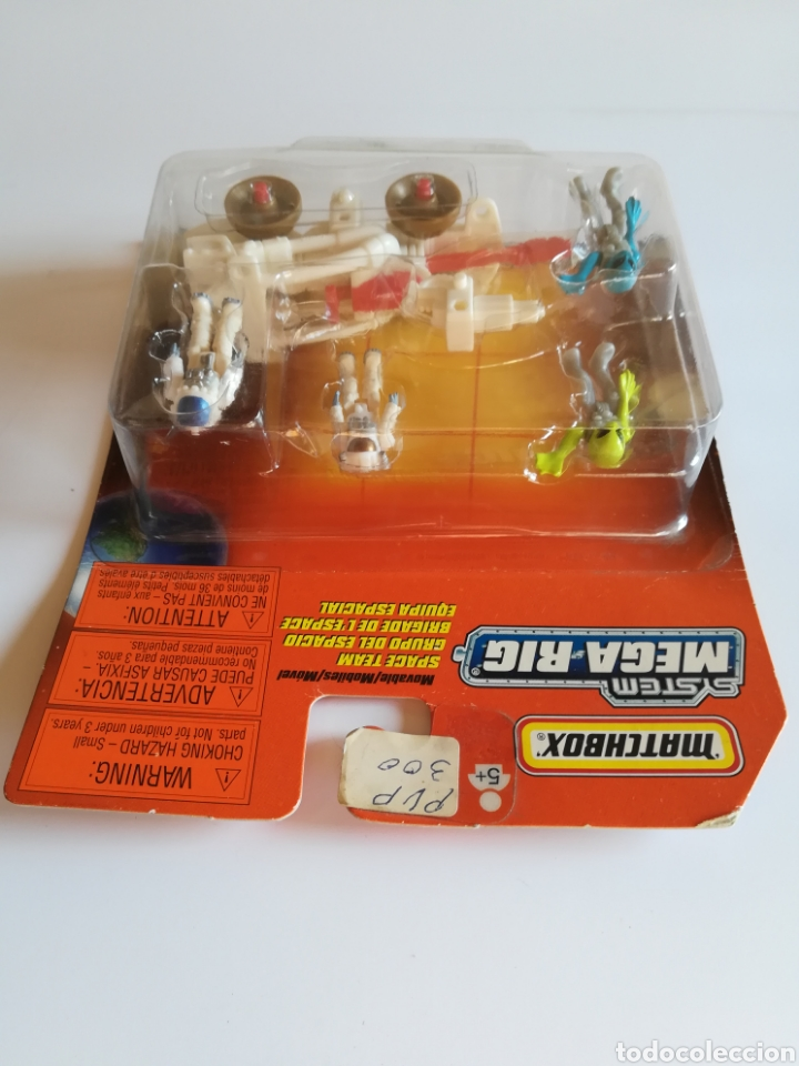 Slot Cars: Matchbox System Mega Rig Grupo del Espacio Space Team - Mattel Wheels - año 1999 - Aliens Universo - Foto 4 - 205681753