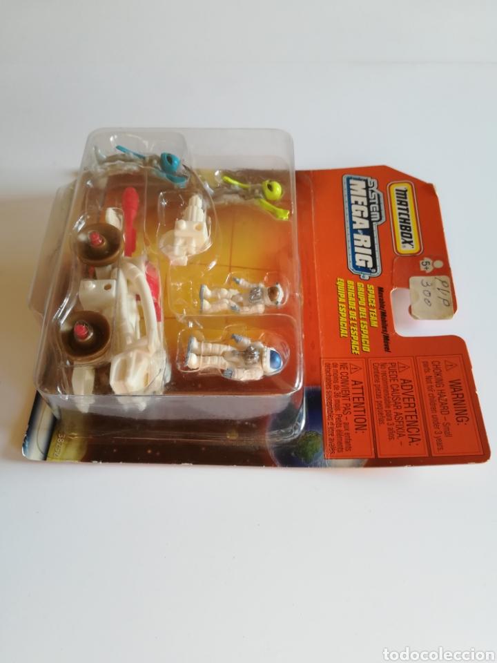 Slot Cars: Matchbox System Mega Rig Grupo del Espacio Space Team - Mattel Wheels - año 1999 - Aliens Universo - Foto 5 - 205681753
