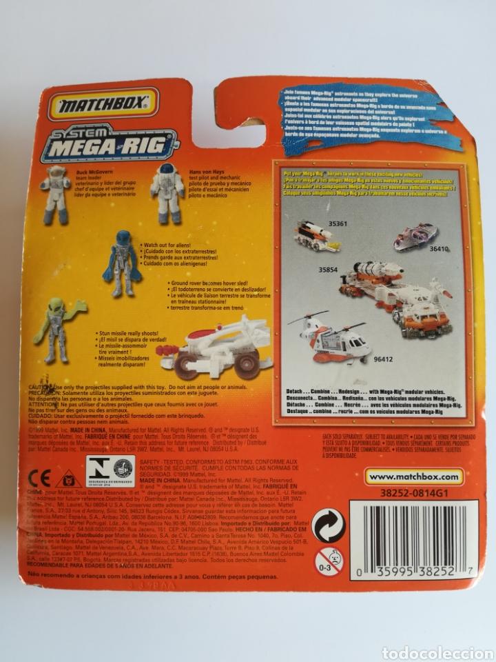 Slot Cars: Matchbox System Mega Rig Grupo del Espacio Space Team - Mattel Wheels - año 1999 - Aliens Universo - Foto 18 - 205681753