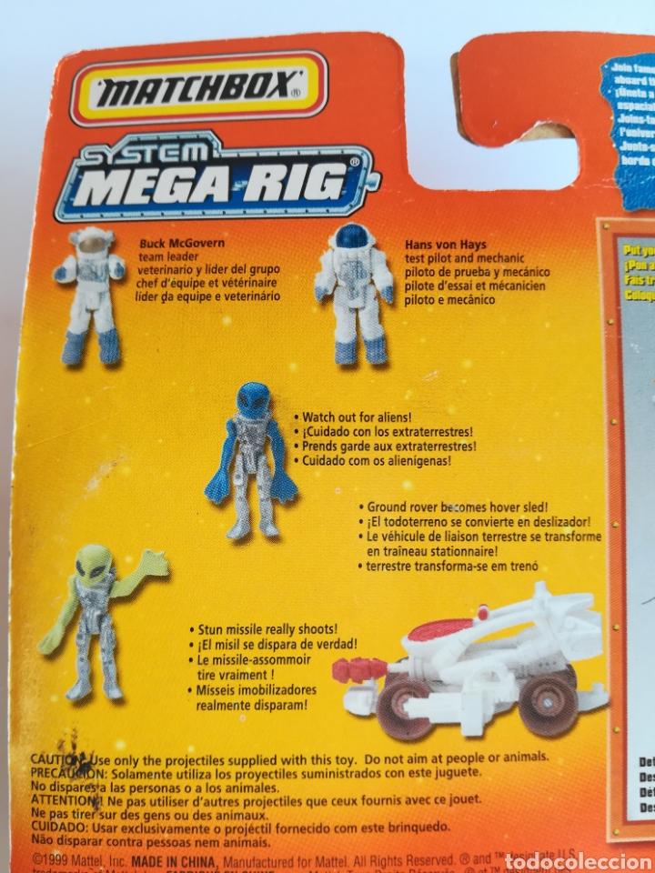 Slot Cars: Matchbox System Mega Rig Grupo del Espacio Space Team - Mattel Wheels - año 1999 - Aliens Universo - Foto 19 - 205681753