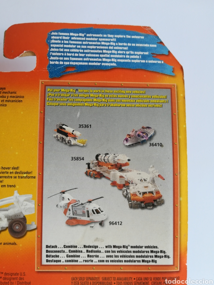 Slot Cars: Matchbox System Mega Rig Grupo del Espacio Space Team - Mattel Wheels - año 1999 - Aliens Universo - Foto 20 - 205681753